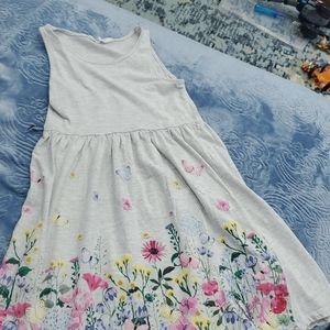 ♦️3\$15 H&M 8-10 girls sleeveless dress #139